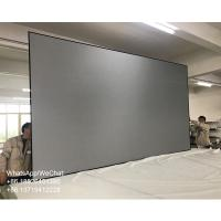 Cheap 150 inch ALR PET Grid Thin Bezel Projection Screen for Ultra Short Throw Projector for sale