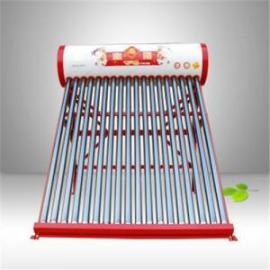 Cheap olor Steel Integrative Non-Pressure ETC Tube Solar Water Heater for sale