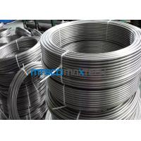 Cheap Bright Annealed Stainless Steel Coiled Tubing S30908 / S31008 8mm Precision for sale