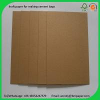 Cheap BMPAPER High Quality Test Liner Fluting Paper For Making Craft Paper Box  for cement bags for sale