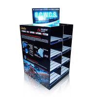 2 -sided Cardboard Pallet Display With Trays And Slots For