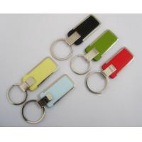 Cheap wholesale personalized leather keychain China for sale