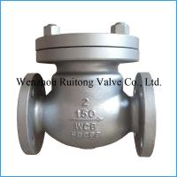 Cheap swing flange check valve price for sale