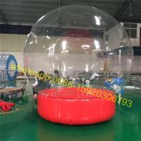 Cheap Show inflatable snow globe for event for sale