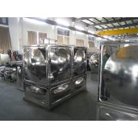 China Stainless Steel Water Tank With Durable Corrosion Crack Panel on sale