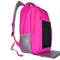 China 3.5W Nylon Backpacking Solar Charger , 6V Womens Backpack With Built In Charger on sale