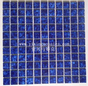 China Decorative ceramic mosaic wall tiles swimming pool tile WT-15 on sale