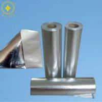 China Fire Proof Srim Fabric Heat Insulation Material with Aluminum Foil Backing on sale
