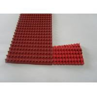 Cheap Red Rubber Corrugated belt on Top Super Grip Belt Type A-13, B-17 ,C-22 for sale