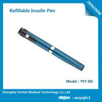 Cheap Sapphire Blue Purple Insulin Pen , Regular Insulin Pen For Humalog Cartridge for sale