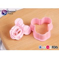 Cheap Pink Children Safety Plastic Kitchenware 12.4G 6 Cm Long 5.5 Cm Width for sale