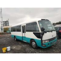 China Japan made 20-30 seats used coaster bus used school bus with diesel petrol gasoline engine for sale on sale