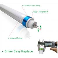 China Strong Lumen 100-105lm/w T5 LED Tube With Logo Ring on sale