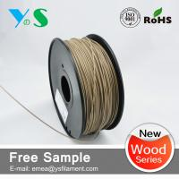 Cheap Dark Brown 3mm Wood 3D Printer Filament Glossy For Reprap 3D Printer for sale