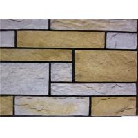 Cheap Rectangle Artificial Wall Stone With Strong Adhesion Color Solid Focus for sale