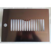 China Construction Polished Aluminum Sheet Metal High Reflective Rate Aerospace Application on sale