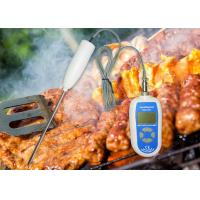 China Instant Read Flexible Probe Waterproof Industrial Digital Thermometer For Food Processing on sale