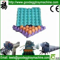 Cheap Reciprocating Paper Pulp Moulding Machine for Egg Trays for sale