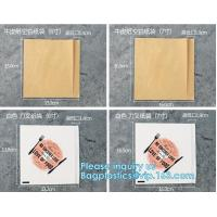 Excellent oil-proof take away burger wrapping paper bag,Recyclable Custom