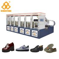 China Hydraulic Compression Moulding Rubber Sole Making Machine Static Type Save energy on sale