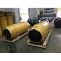 China 1 TON  REFRIGERANT GAS,AMMONIA GAS,CHLORINE GAS CYLINDER WITH VALVES FOR STORAGE TANK AND TRANSPORATION on sale