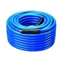 Buy cheap Flex PVC Air Hose Blue Fiber Braided Industrial Air Hose OEM / ODM Available from wholesalers