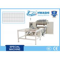 Cheap 6-15 Guns Multi Head Wire Welding Machinery For Wire Mesh Of Shopping Trolley / Carts for sale