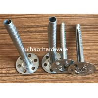 Cheap Metal Expansion Insulation anchor Pins With 35mm Perforated Head For Fixing Celotex for sale