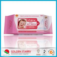 Cheap Newborns Unscented Alcohol Free Baby Wipes Chemical Free Non Woven for sale