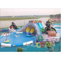 Cheap Extrior Amazing Inflatable Amusement Park Security For Children for sale