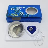 China DIY Wish Pearls Necklace Gift Box Jewelry Set with Fish Cage Pendant for Birthday Gift on sale