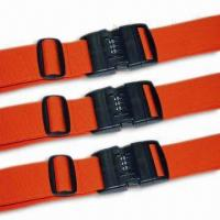 Cheap 2 x 78-3/4-inch Luggage Strap/Belt, Various Kinds are Available, OEM Order are Welcome for sale