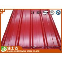 Cheap Galvanized Corrugated Steel Sheets Metal Floor Sheets 508mm / 610mm Coil ID for sale