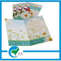 Cheap OEM Customized Greeting Card Stock Paper Printing for Holiday Decoration & Gift for sale