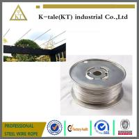 Cheap Cable Railing for Pergola /stainless steel wire rope for pergolas and plant training for sale