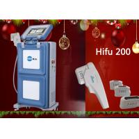 Cheap Painless Vertical to Skin Lift HIFU Machine , High Intensity Focused Ultrasound Machine for sale