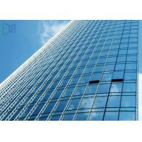 Cheap Reflective Glass Aluminium Glass Curtain Wall For Commercial Building ISO 9001 Certificate wholesale