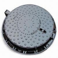 Cheap Ductile Iron Manhole Cover, Suitable for Construction and Public Use for sale