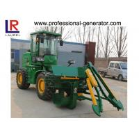 Buy cheap Hydraulic Transmission Sugar Cane Harvester , 4 Wheel Driving Agriculture Farm Machinery from wholesalers