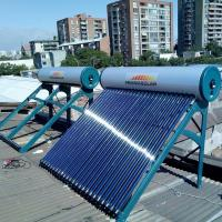 Cheap 300liter  heat pipe pressurized solar water heater for sale