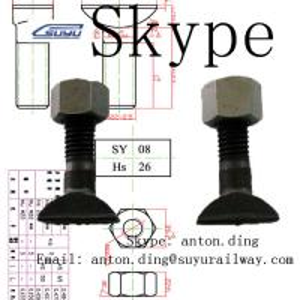 Buy cheap Rail bolt/T-bolt/Clip bolt/Clamp bolt from wholesalers