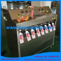 Cheap Fruit Flavoured Carbonated Soft Drinks/Soda Pop/mineral water pouch filling packing machine for sale