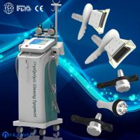 Cheap 5 handles fat freezing Cryolipolysis Vacuum cavitation RF machine body slimming wholesale
