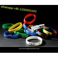 Cheap new interesting products rainbow silicone bracelet / rubber pvc wristband / silicone band for sale