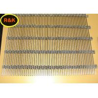 Cheap Smooth Surface Architectural Wire Mesh  0.5mm - 2.5mm Wire Diameter for sale