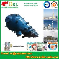 High Pressure Coal Boiler Mud Drum Longitudinal With Fire Prevention