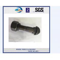 Cheap All size carbon steel Railway Bolt mining tunnel bolts fish tail with nuts and washer for sale