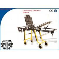 Cheap Folding Patient Transport Rescue Stretcher Trolley For First Aid for sale