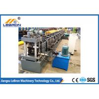 China New grey color strong support steel storage rack roll forming machine / metal storage rack making machine on sale