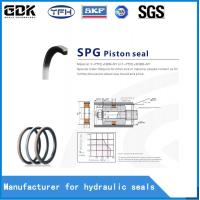 China PTFE NBR SPG Hydraulic Piston Seal Chemical Resistance Environmental Friendly on sale
